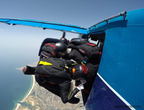 skydiving 4way